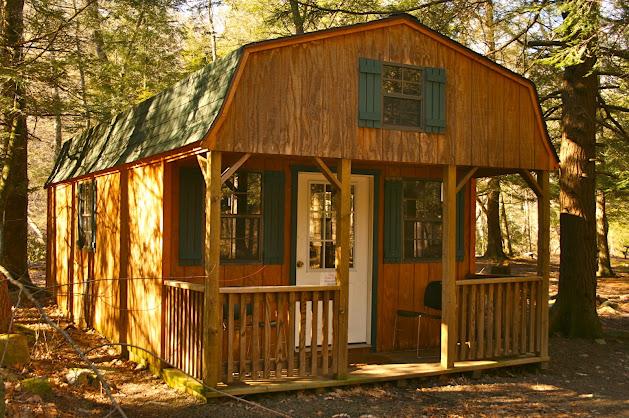 Cabin F Description: Abram's Creek Retreat and Campground, WV